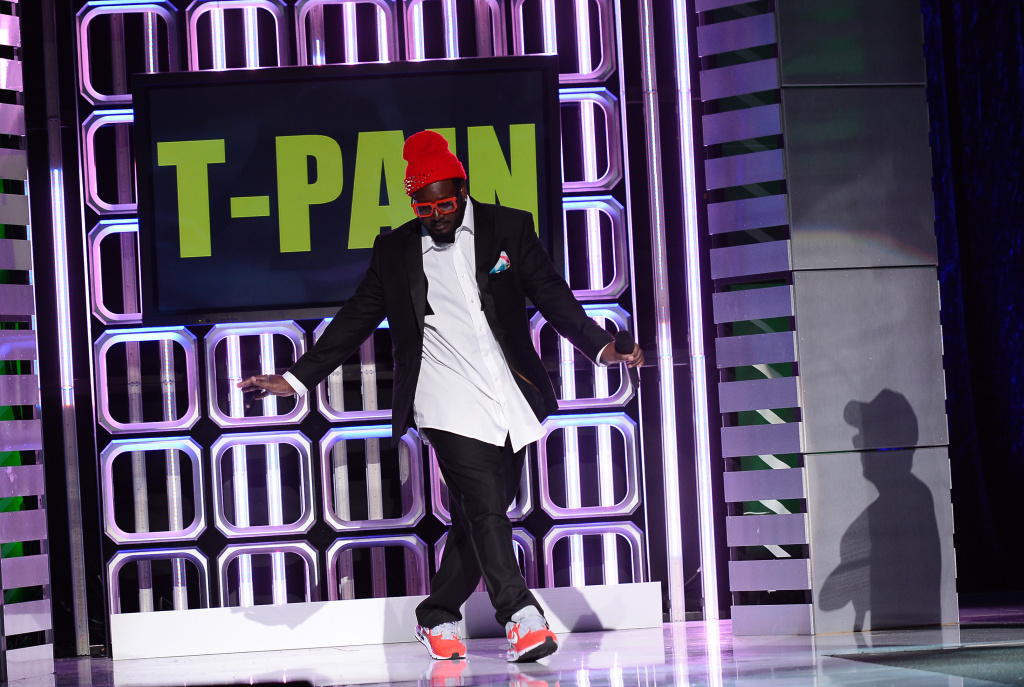 File: T-Pain performs during