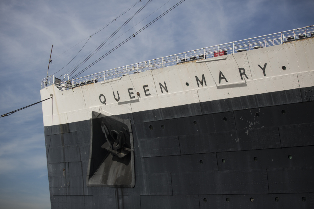 The city of Long Beach purchased the Queen Mary decades ago. Naval architects and marine engineers conducted a study on the ship's condition.