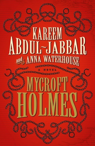 Anna Waterhouse and Kareem Abdul-Jabbar with their first novel,