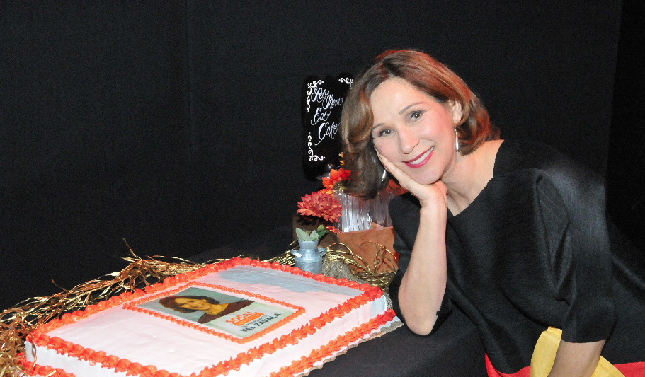 Val Zavala celebrates her retirement from KCET.