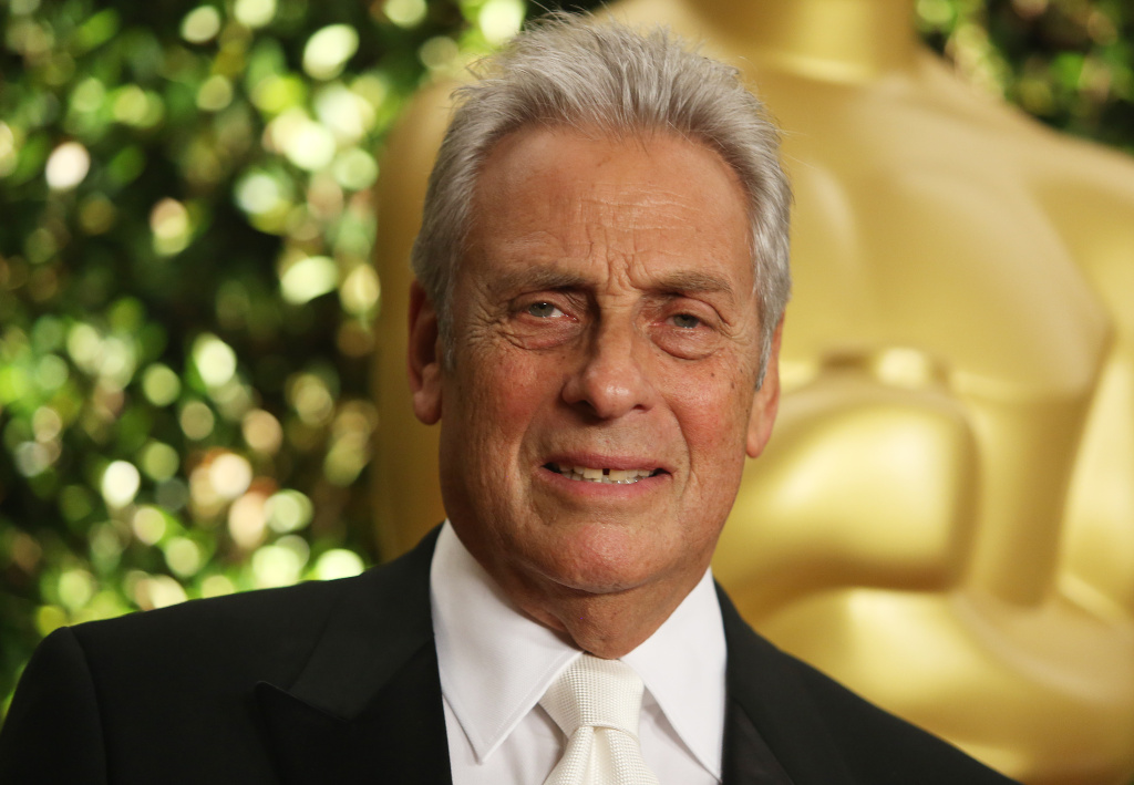 Academy Awards President Hawk Koch arrives at the 2012 Governors Awards at the Ray Dolby Ballroom at Hollywood & Highland Center in Hollywood, California on December 1, 2012.