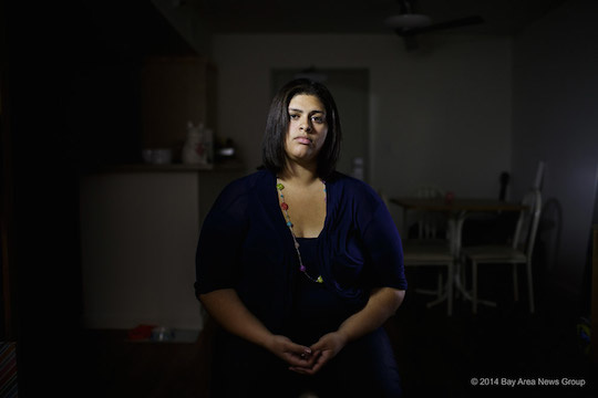 Olivia Hernandez, 22, a UCLA student, was photographed on Tuesday, Nov. 18, 2014, at her home. She was prescribed as many as four psychiatric medications at a time as a foster youth in Ventura County.