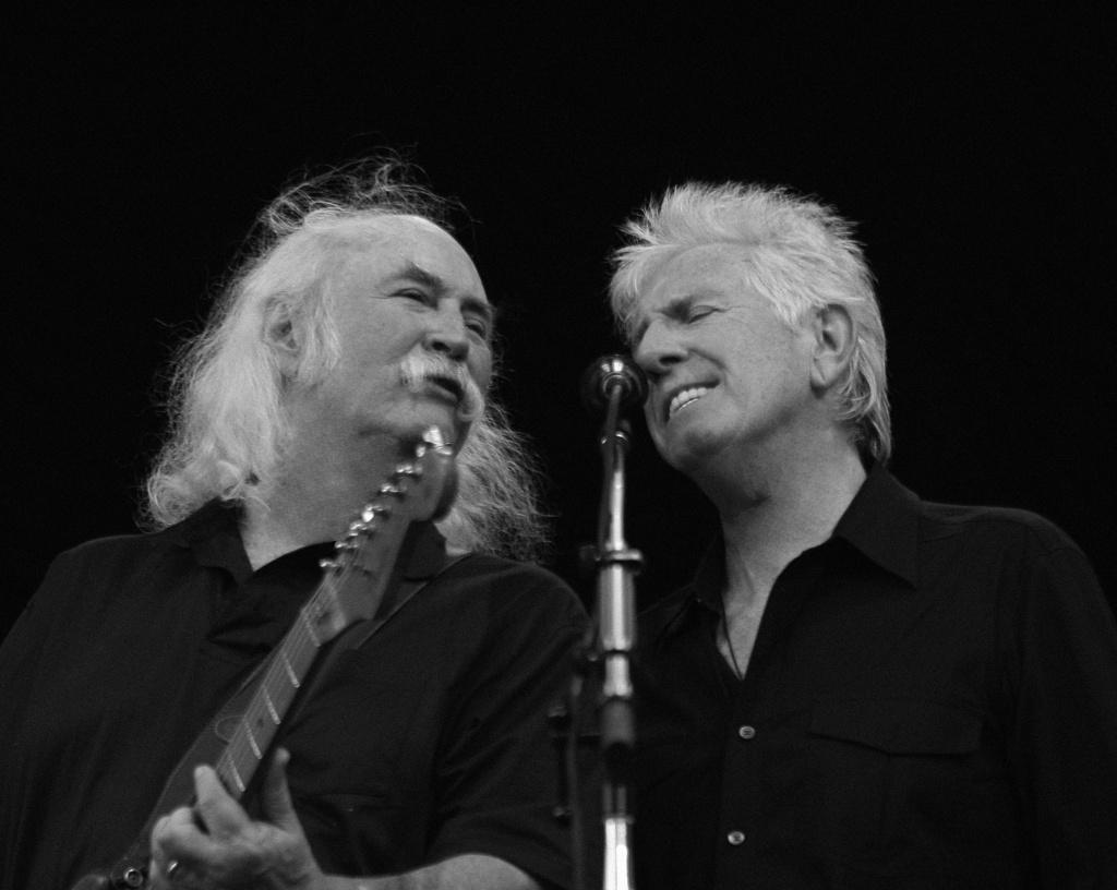 Five Acres- Crosby & Nash Benefit Concert
