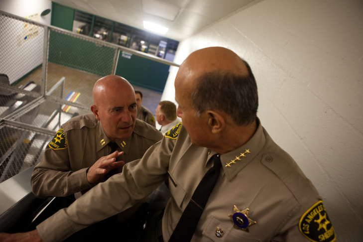 Sheriff Lee Baca and Men's Central