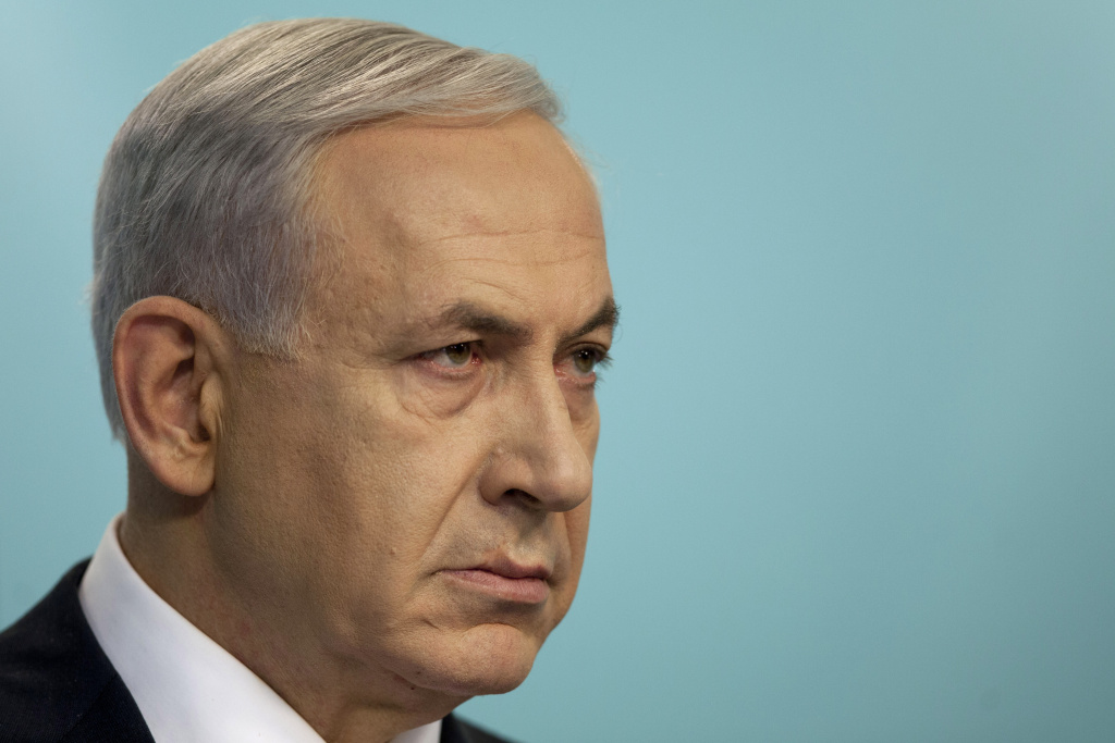 Israeli Prime Minister Benjamin Netanyahu speaks during a press conference on November 18, 2014 in Jerusalem, Israel. Netanyahu on Wednesday made a last-ditch appeal for world powers to call off an emerging nuclear agreement with Iran.