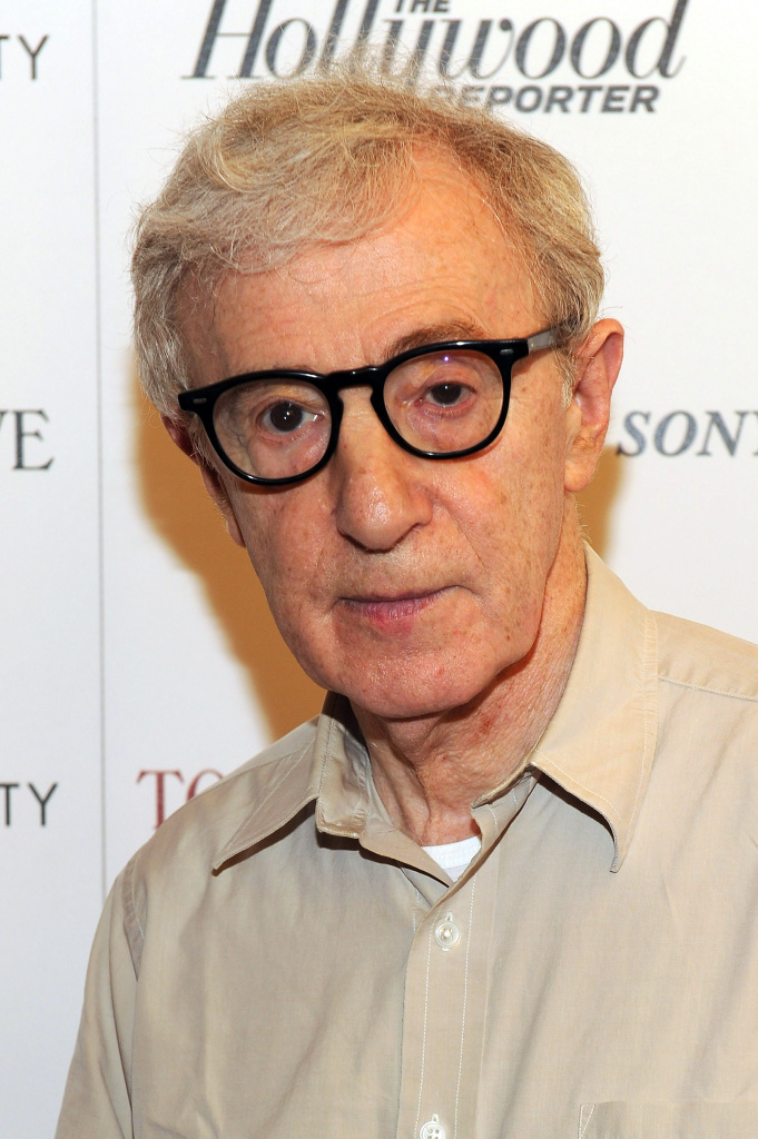 Woody Allen attends the Cinema Society with The Hollywood Reporter & Piaget and Disaronno special screening of