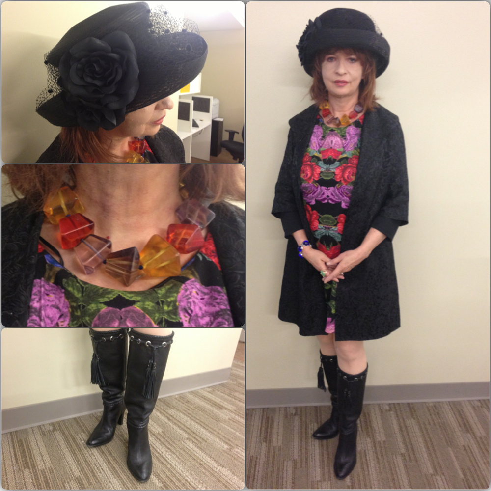 Patt Morrison's outfit for March 19, 2013.