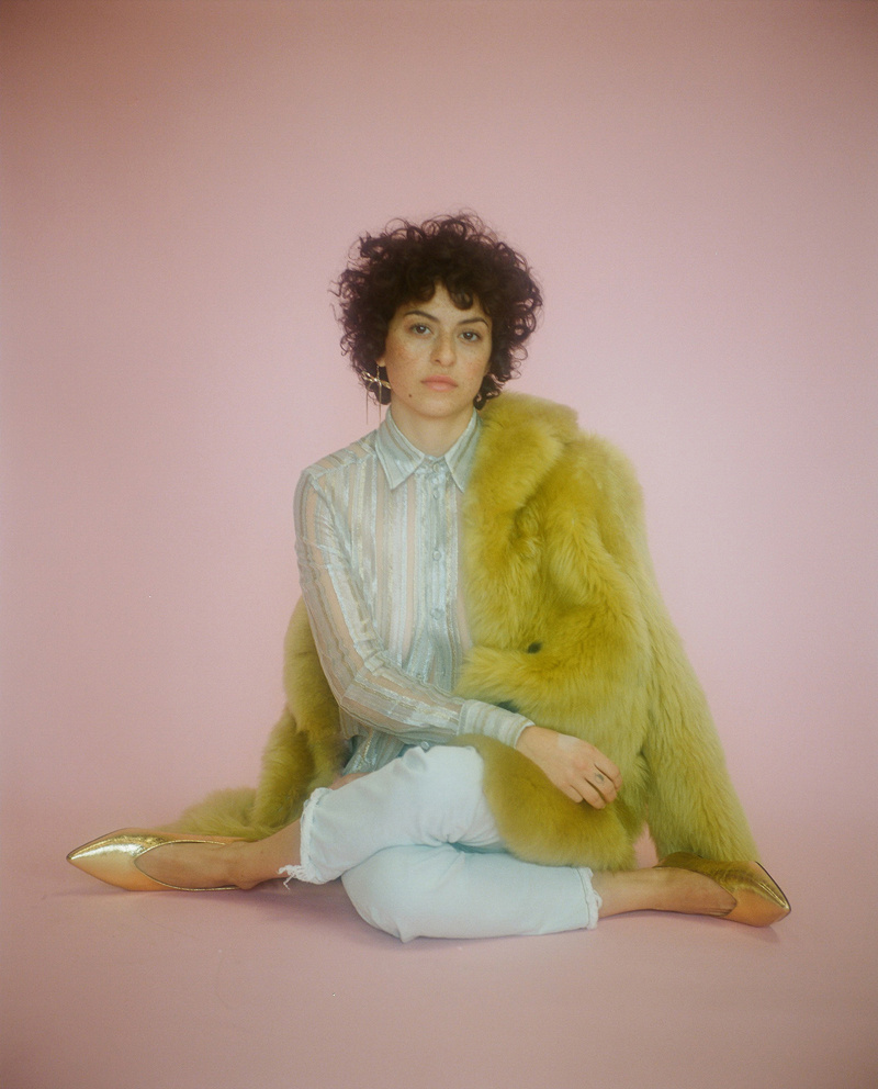 Alia Shawkat, actor and co-writer of