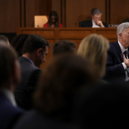 Judge Neil Gorsuch testifies during the third day of his Supreme Court confirmation hearing before the Senate Judiciary Committee in the Hart Senate Office Building on Capitol Hill, March 22, 2017.