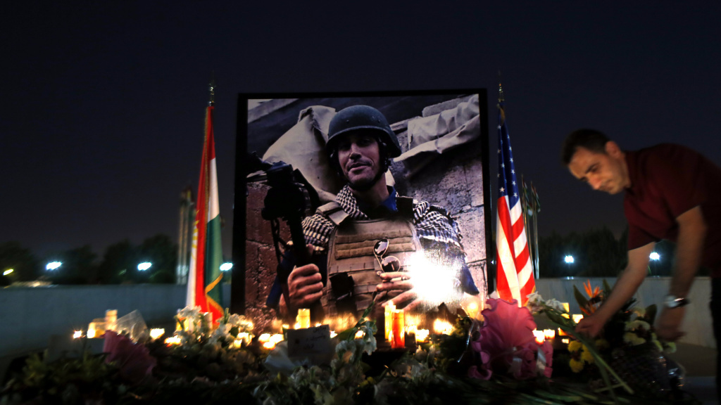Journalist James Foley was killed by the so-called Islamic State in August of this year. His mother, Diane Foley, says the U.S. government never reached out to tell her that her son was dead.