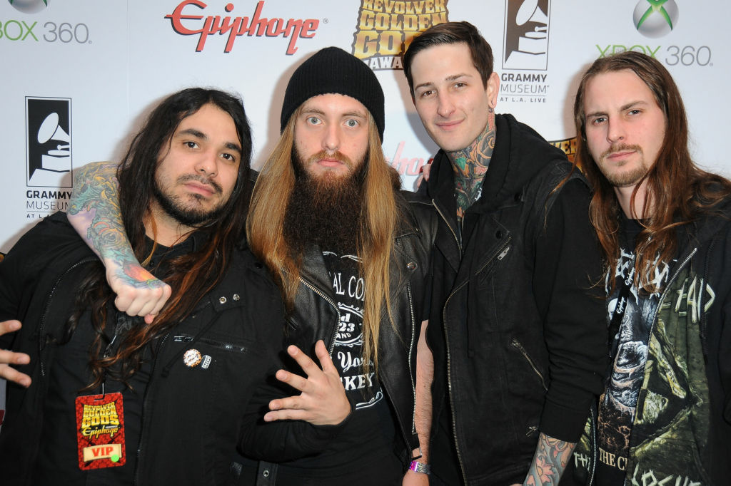 Suicide Silence' metal singer Mitch Lucker dies following ...