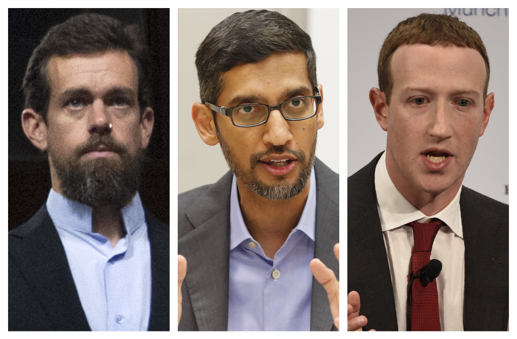 Twitter CEO Jack Dorsey, Google CEO Sundar Pichai, and Facebook CEO Mark Zuckerberg will testify on Wednesday before the Senate Commerce Committee about a legal shield known as Section 230.