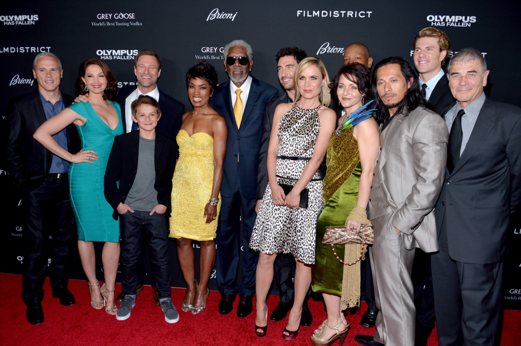 The cast arrives at the premiere of FilmDistrict's