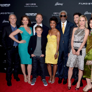 "Premiere Of FilmDistrict's ""Olympus Has Fallen"" - Red Carpet"
