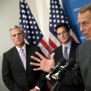 Boehner, House Leaders Speak To Press After Republican Conference Meeting