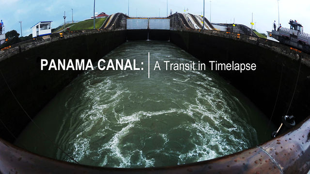 Panama Canal: A Transit in Timelapse