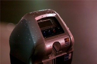 A Los Angeles parking meter.