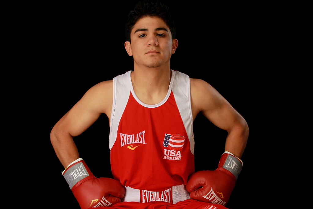 Boxer, Joseph Diaz Jr., poses for a portrait during the 2012 Team USA Media Summit on May 15, 2012 in Dallas, Texas.