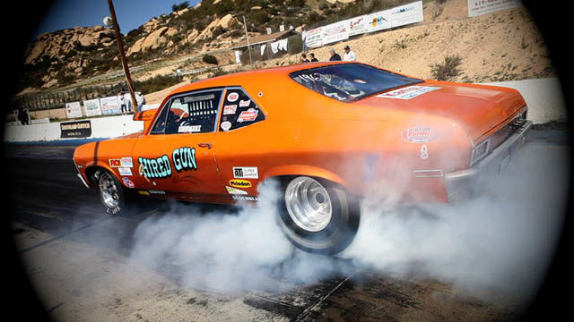 Barona drag strip is one of the last places for street legal racing in Southern California.