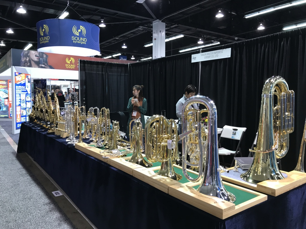 Exhibitors at NAMM 2018 showcase their latest products.