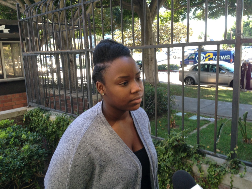 Former Fremont High School student Briana Lamb was among the plaintiffs in a lawsuit that alleged schools deprived students of their rights by placing them in classes without academics or simply sent them home.
