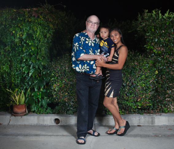 Brenn Holiday and Bonna Joy Holiday met online 4 years ago. Bonna feels blessed to live in states with her husband, but hopes that they will move back to the Philippines one day.