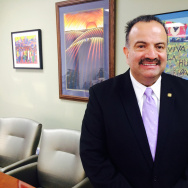 Francisco Rodriguez, chancellor of the LA Community College District, says the nine-campus system has plans to hire up to 150 new faculty in the coming year.