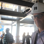 The Frame's John Horn tours the construction site for the Academy Museum of Motion Pictures.
