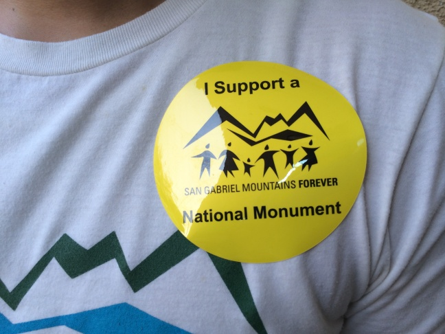 Hundreds of supporters came out to a townhall meeting in Baldwin Park to call for the San Gabriel Mountains to be designated as a national monument.