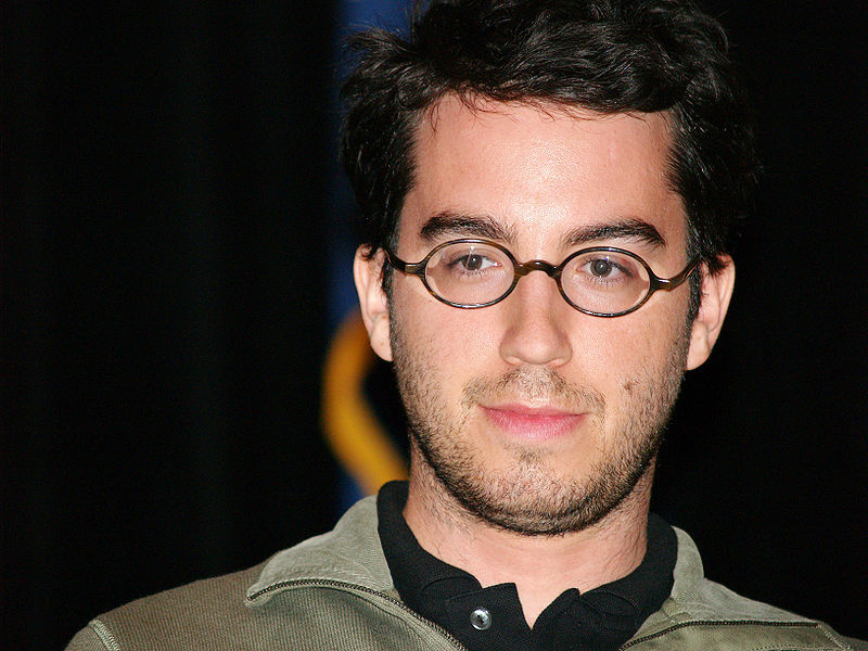 Author Jonathan Safran Foer at the 2007 Brooklyn Book Festival.