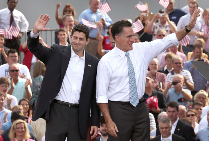 Republican Presidential Candidate Mitt Romney Announces Rep. Paul Ryan As His Vice Presidential Pick