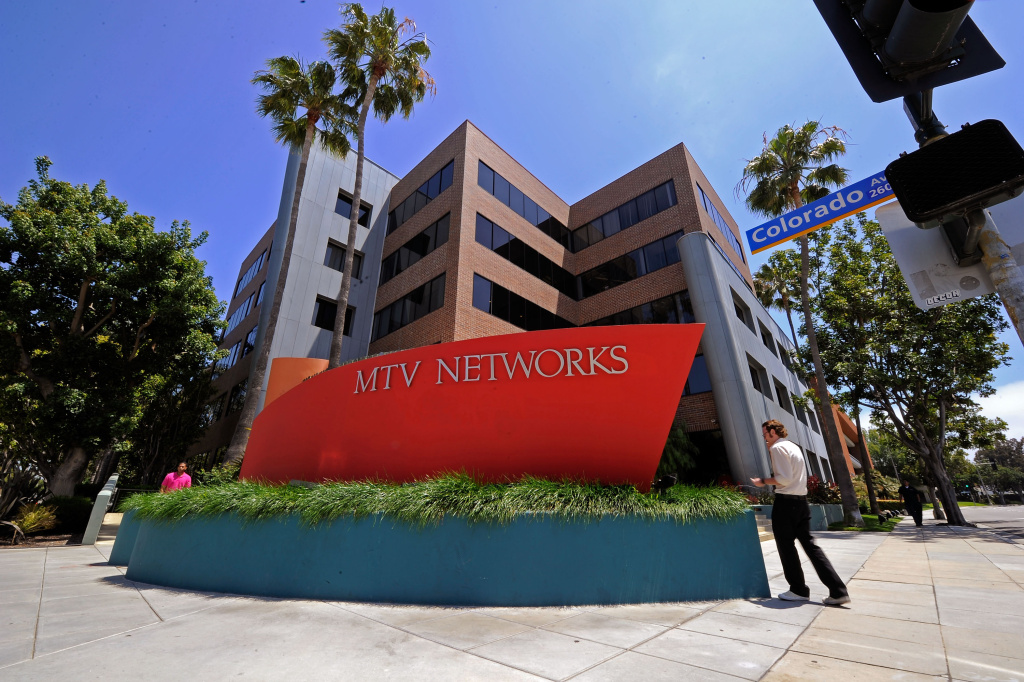 MTV Networks headquarters in Santa Monica, California. MTV parent company Viacom is being sued by Cablevision over their channel bundling practices.