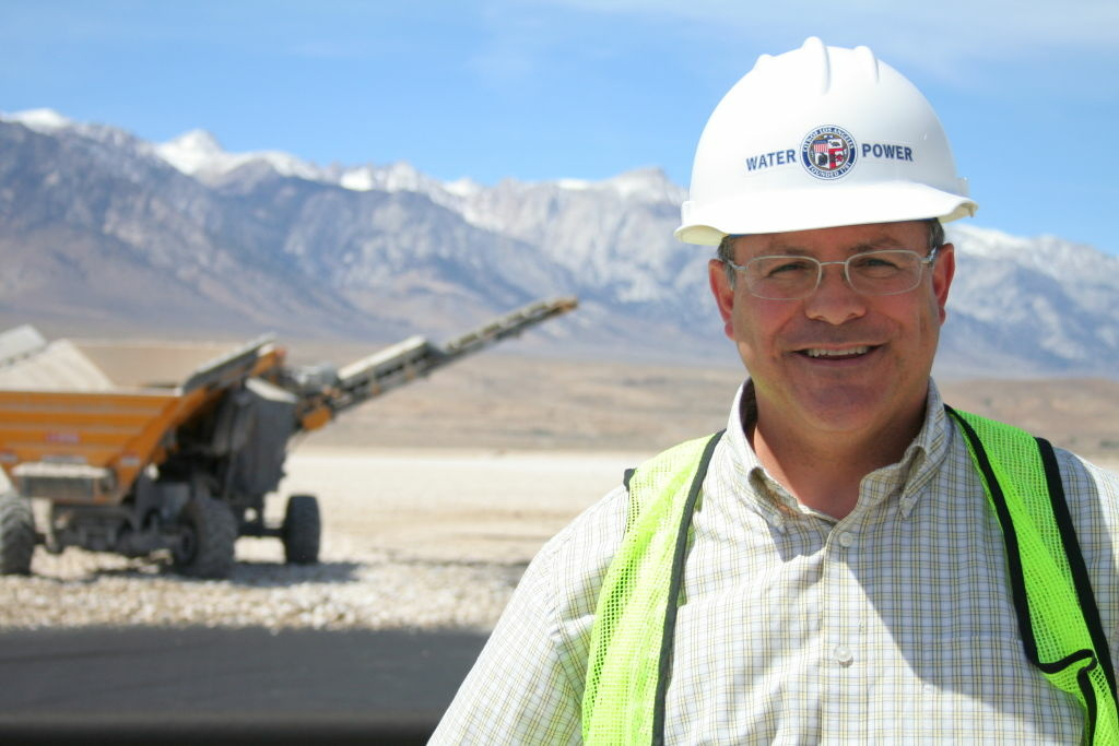 LADWP's Marty Adams says Great Basin is moving the goalposts when it comes to controlling dust at Owens Lake.