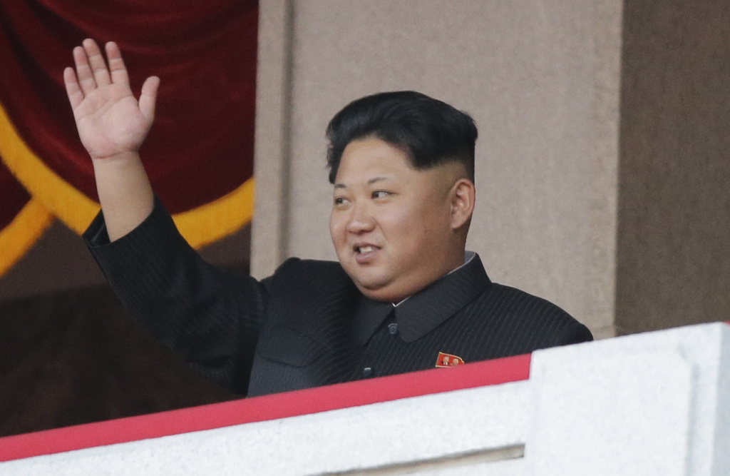 North Korean leader Kim Jong Un waves during a parade in Pyongyang, North Korea, in October 2015. Experts dispute his claim that North Korea has developed a hydrogen bomb.