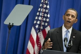President Obama outlines the need for an immigration policy overhaul during a speech Thursday in Washington. Sparked by Arizona's enactment of a tough anti-immigrant law and protests across the country against it, illegal immigration has emerged as a key issue during this midterm election yea