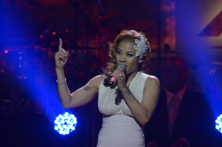 Keyshia Cole performs during the 4th annual BET Honors at the Warner Theatre on Jan. 15, 2011 in Washington, DC.