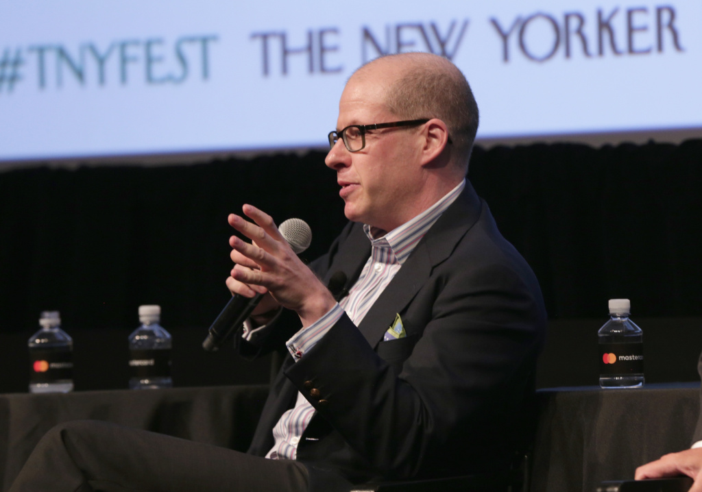 Author Max Boot speaks onstage during The New Yorker Festival 2016 - 'President Trump: Life As We May Know It,' at SVA Theatre on October 8, 2016 in New York City.
