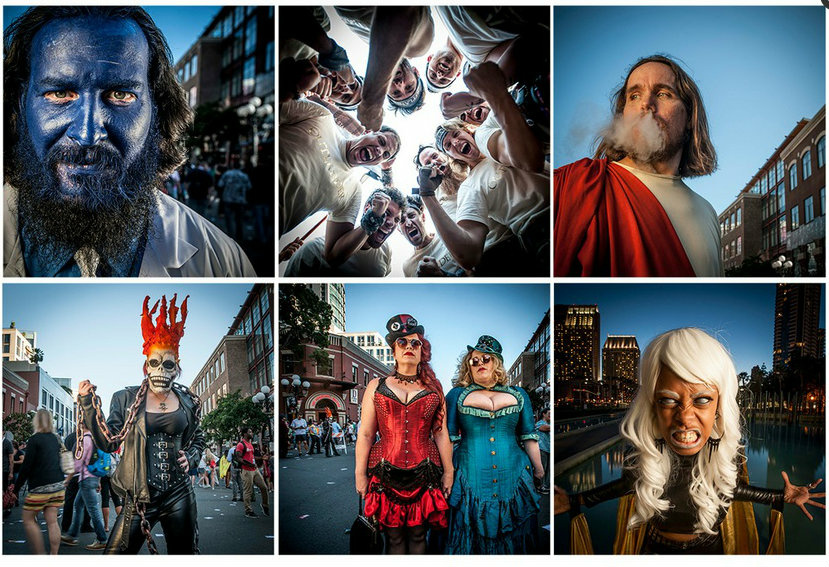 Just a sample of the shots Vern Evans captured at San Diego Comic-Con 2015.