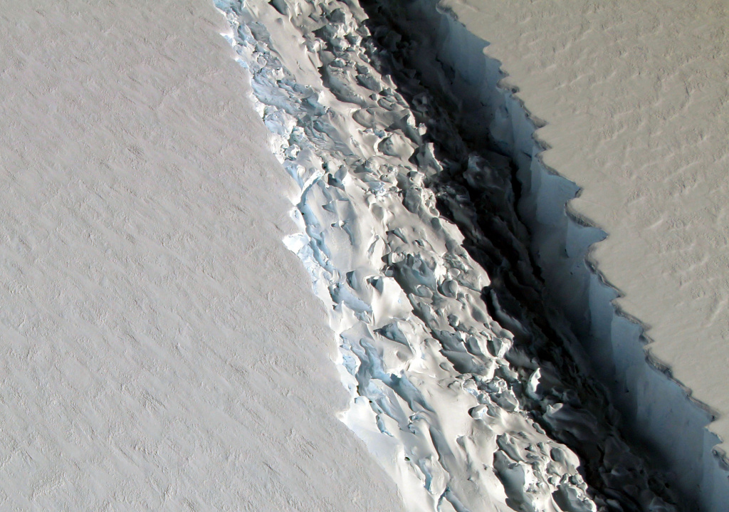 Larsen C Ice Shelf, Antarctica