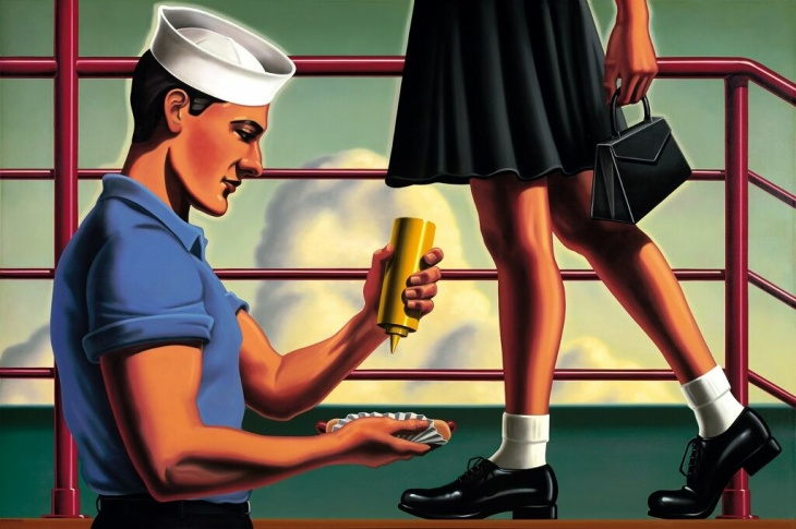 Kenton Nelson - Service and food
