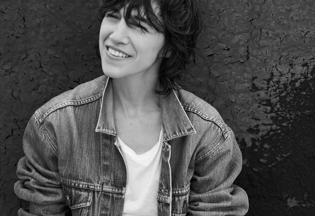 Singer and actress Charlotte Gainsbourg.