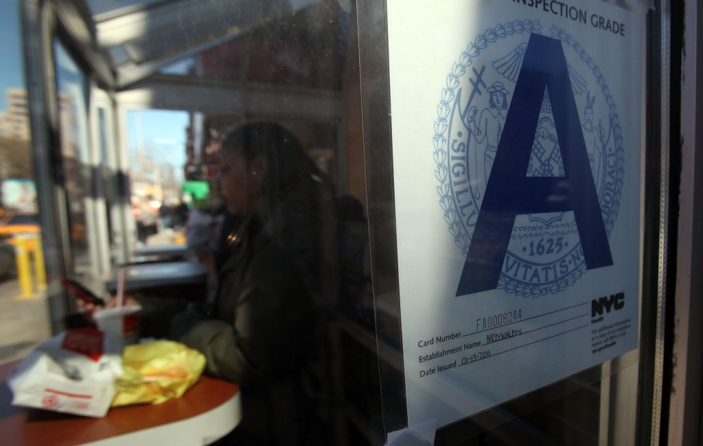 Orange County restaurants currently display health ratings, but don't use letter grades, like many other major municipalities nationwide. The county is now considering a color-coded system