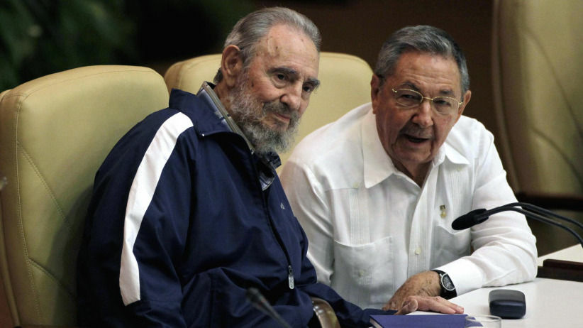 Fidel Castro made a surprise appearance at the 6th Communist Party Congress in Havana, Cuba, held April 19, 2011.