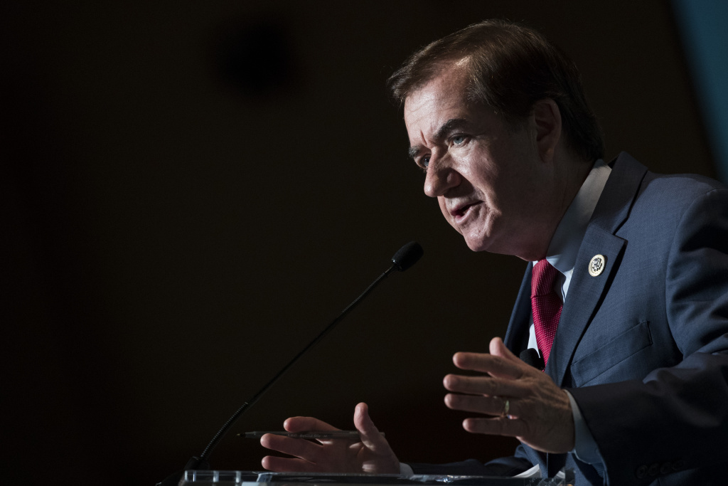 File: Rep. Ed Royce (R-CA) speaks during a discussion on countering violent extremism, at the Ronald Reagan Building and International Trade Center, Oct. 23, 2017 in Washington, D.C.