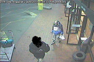 Image from a Denver Greyhound security camera of synagogue explosion suspect Ron Hirsch.