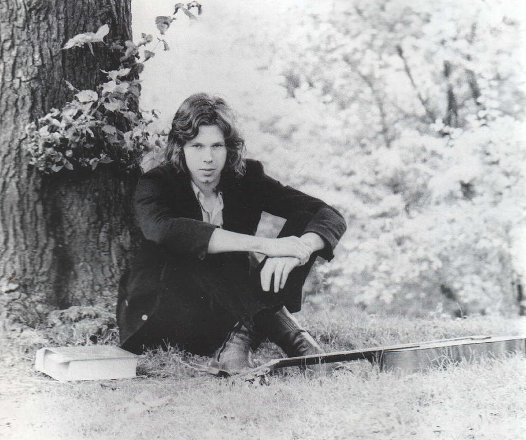 Promotional image of musician Nick Drake.