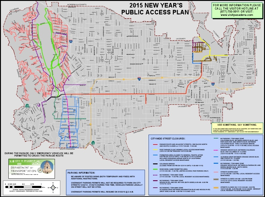 Rose Parade Guide 2015 Maps And Tips For Parking