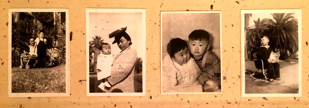 Takei family photos at the Japanese American National Museum's exhibit