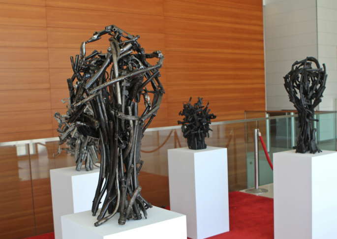Gun Buyback Program Sculptures