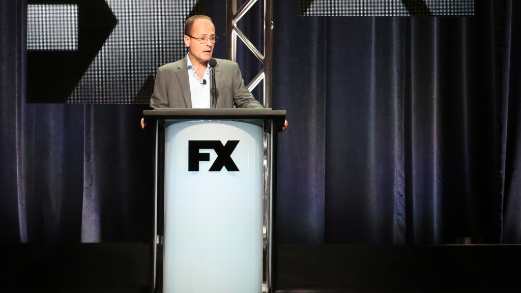 John Landgraf, CEO of FX Networks, at the 2015 Television Critics Assn. press tour.